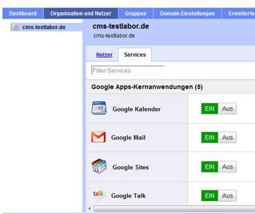 google apps dienste
