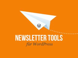 Newsletter-Tools für WordPress