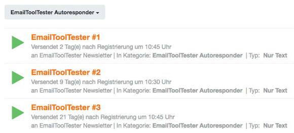 cleverreach autoresponder
