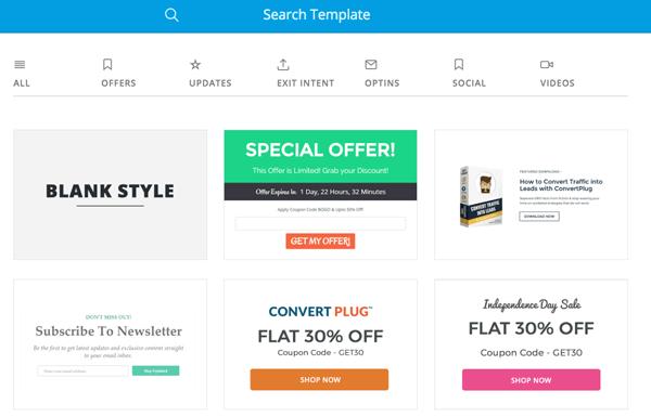 convertplug templates