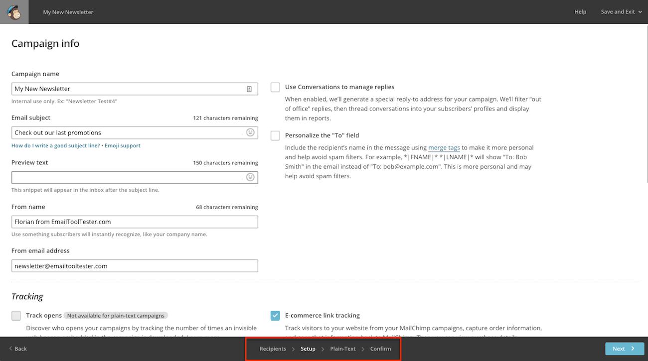 mailchimp-navigation-menu