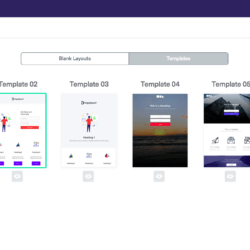 benchmark landing page builder