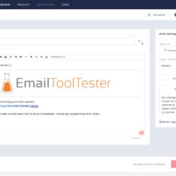 convertkit newsletter editor
