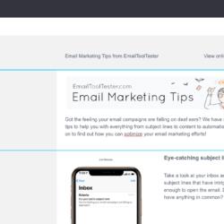 Mailjet newsletter editor