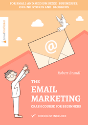 The Email Marcketing Crash Course for Beginners Ebook Cover