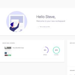 Benchmark dashboard page