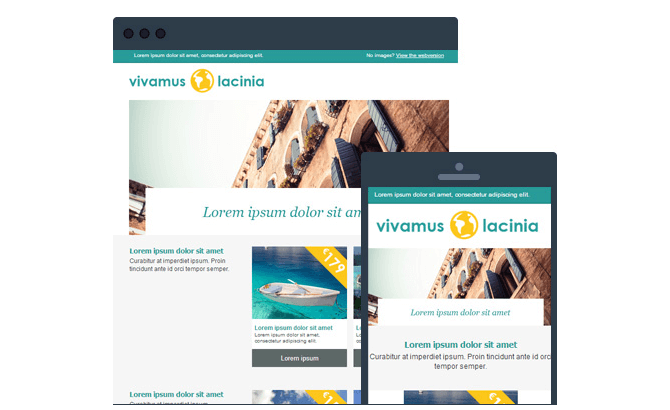 copernica email templates