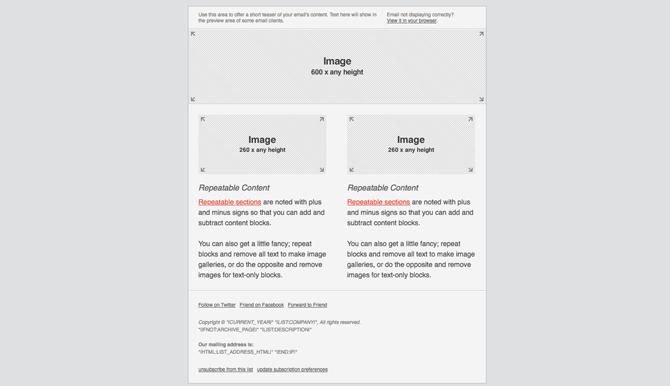 Mailchimp mobile emails