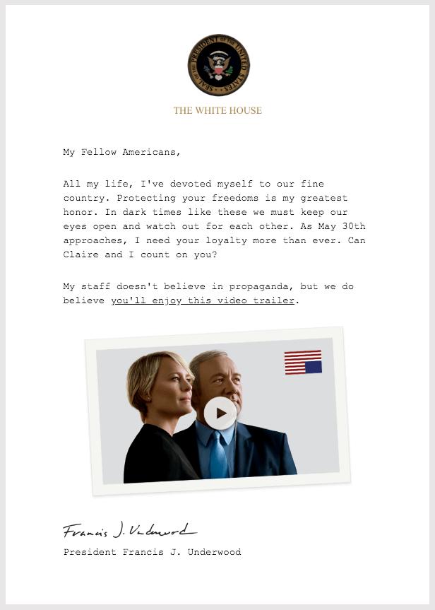 Netflix email newsletter