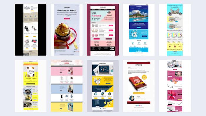 topol newsletter templates
