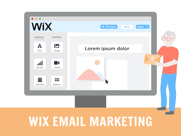 wix email marketing