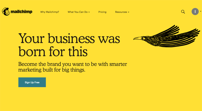 Mailchimp small business