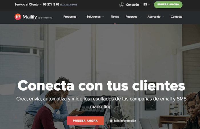 Mailify es una alternativa económica a MailChimp