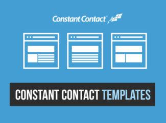 Constant Contact Templates