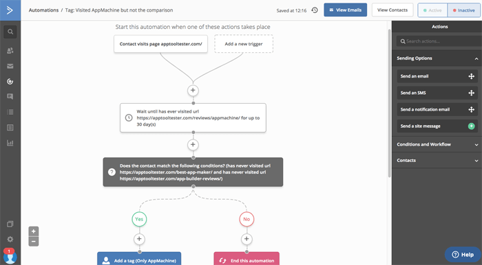activecampaign automation workflow