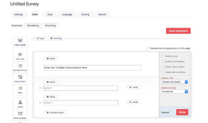 crowdsignal free survey tools
