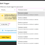 drip ecommerce automations