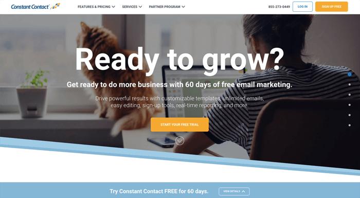 shopify constantcontact