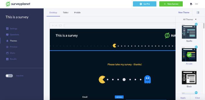 surveyplanet free survey tools