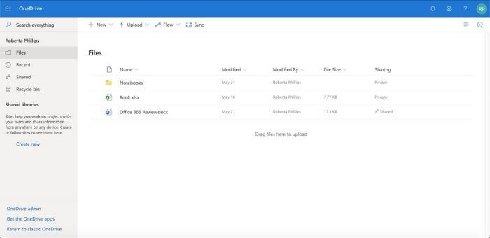 office 365 review onedrive
