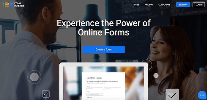 best online form builder 123formbuilder 1