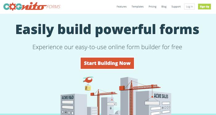 Cognito Form Builder
