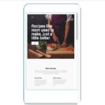 mailchimp template - mobile