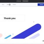 Mailerlite - thank you page