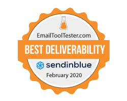 best email deliverability award 2020 1