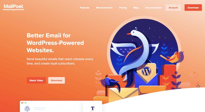 mailpoet newsletter plugin