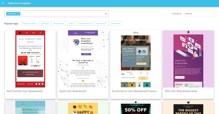 chamaileon email templates