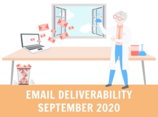 Email Deliverability September 2020