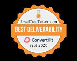 best deliverability badge sept 2020 1