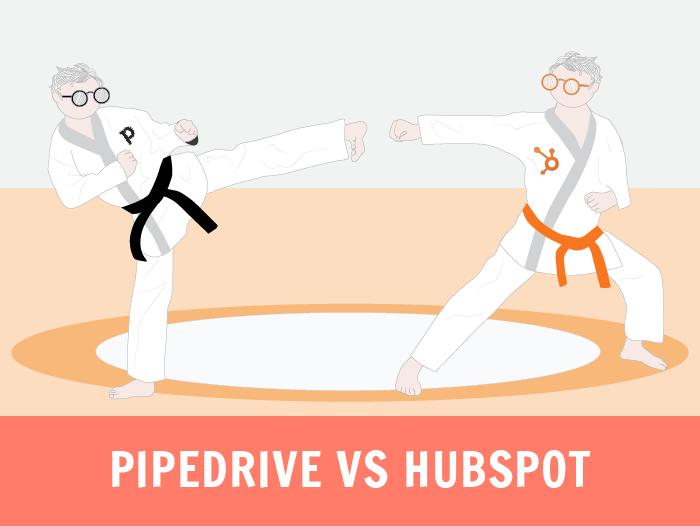 pipedrive vs hubspot crm