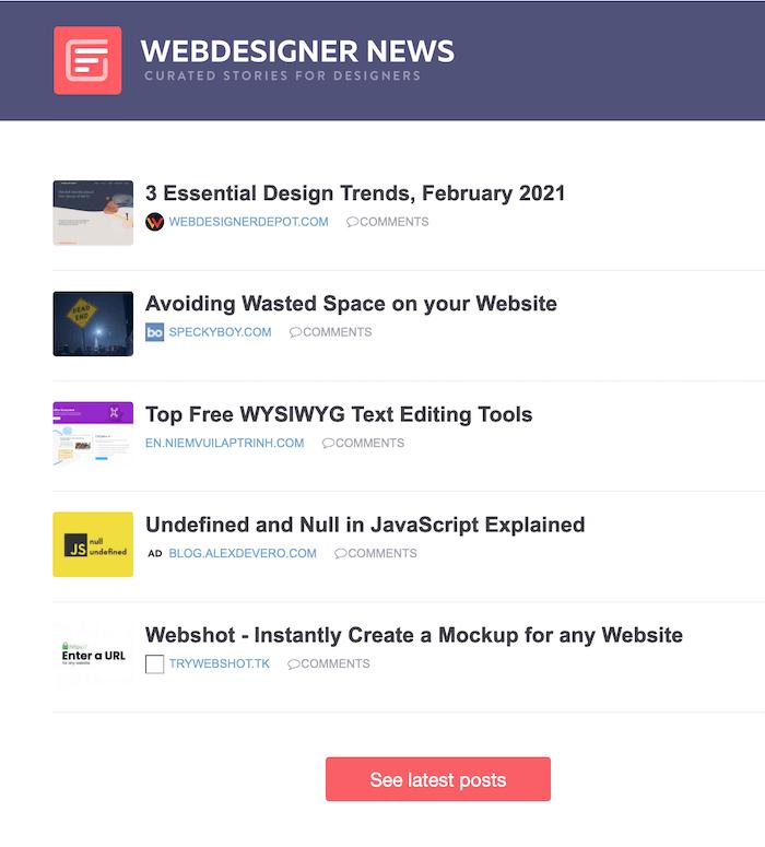 blogger newsletter examples
