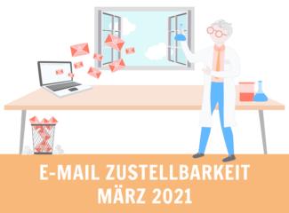 email zustellbarkeit märz 2021