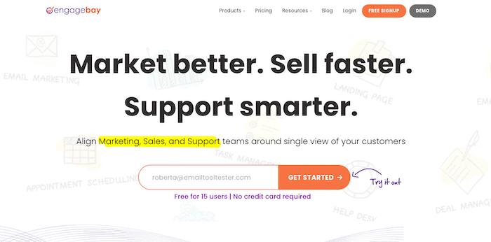 engagebay profile